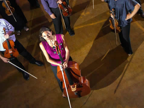 <p>Beth Rosbach, founder and director of Sphere Ensemble.</p>