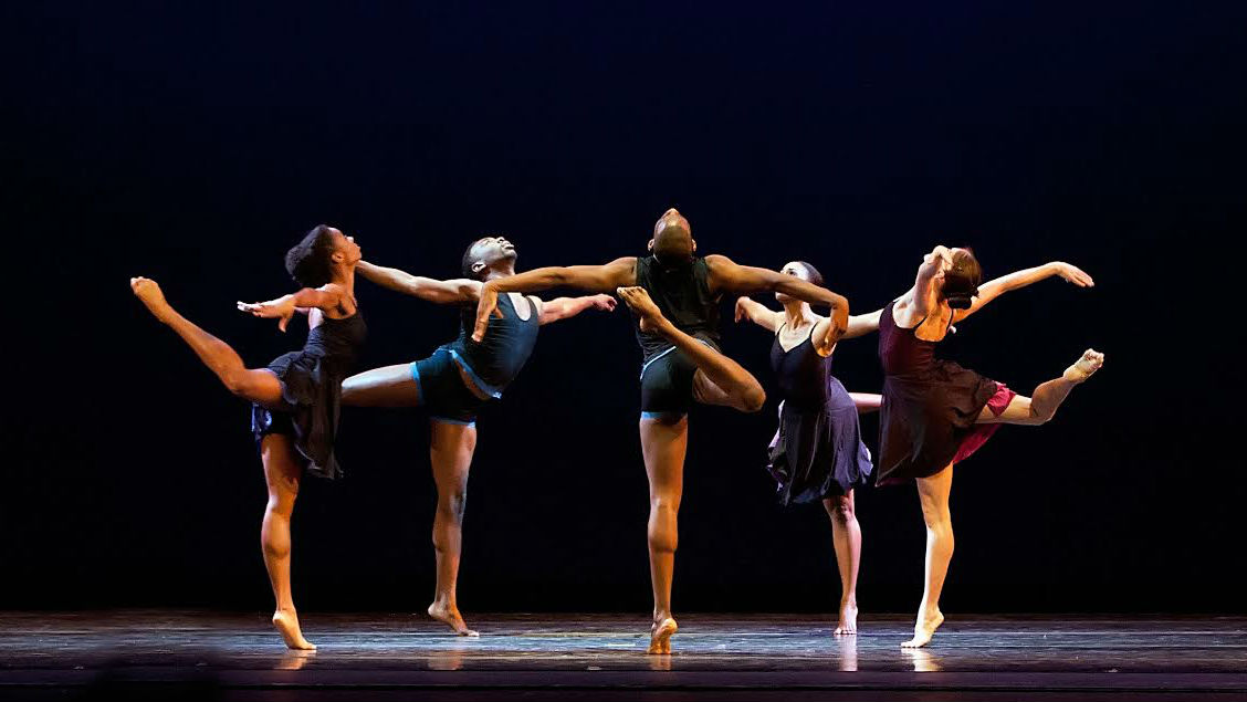 """<p>Cleo Parker Robinson Dance Ensemble in""""Arranged,"""" choreographed by Milton Myers</p>"""