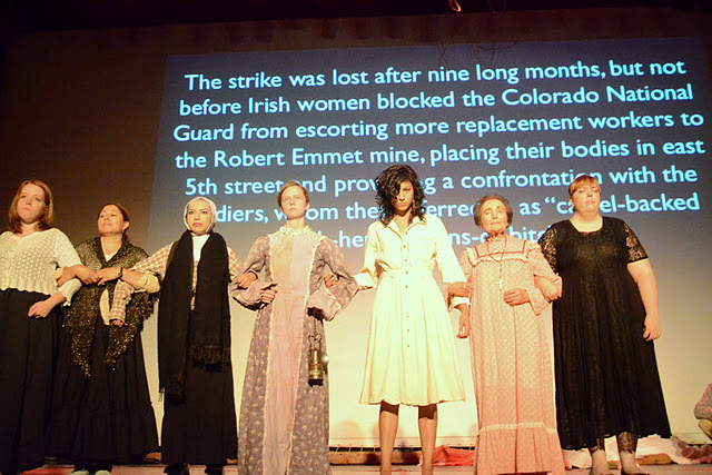 <p>Members of the Romero Theater Troupe bring the stories oflittle-known Colorado activists to the stage.</p>