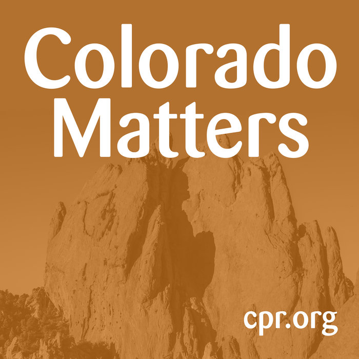 Colorado Matters Podcast logo