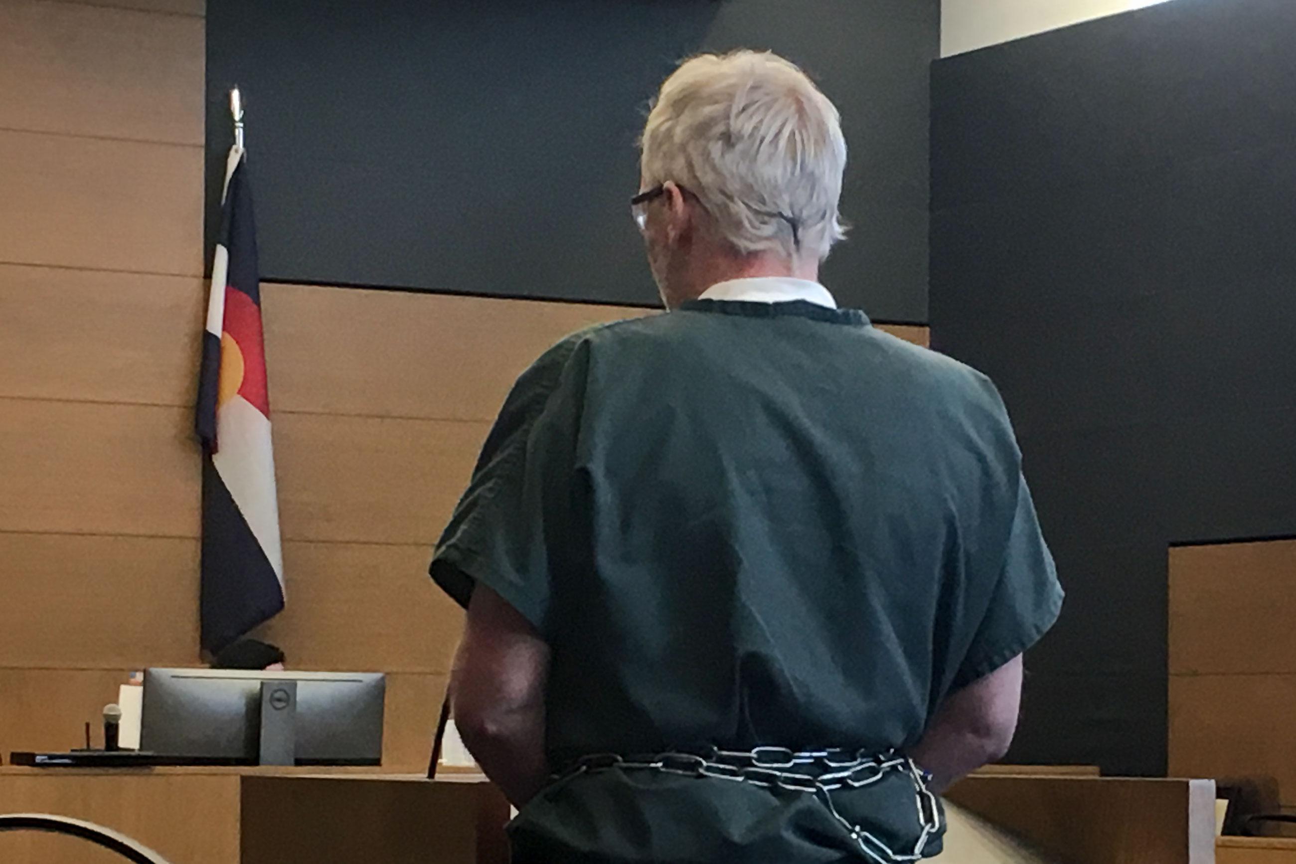 <p>Bruce Doucetteis sentenced.</p>
