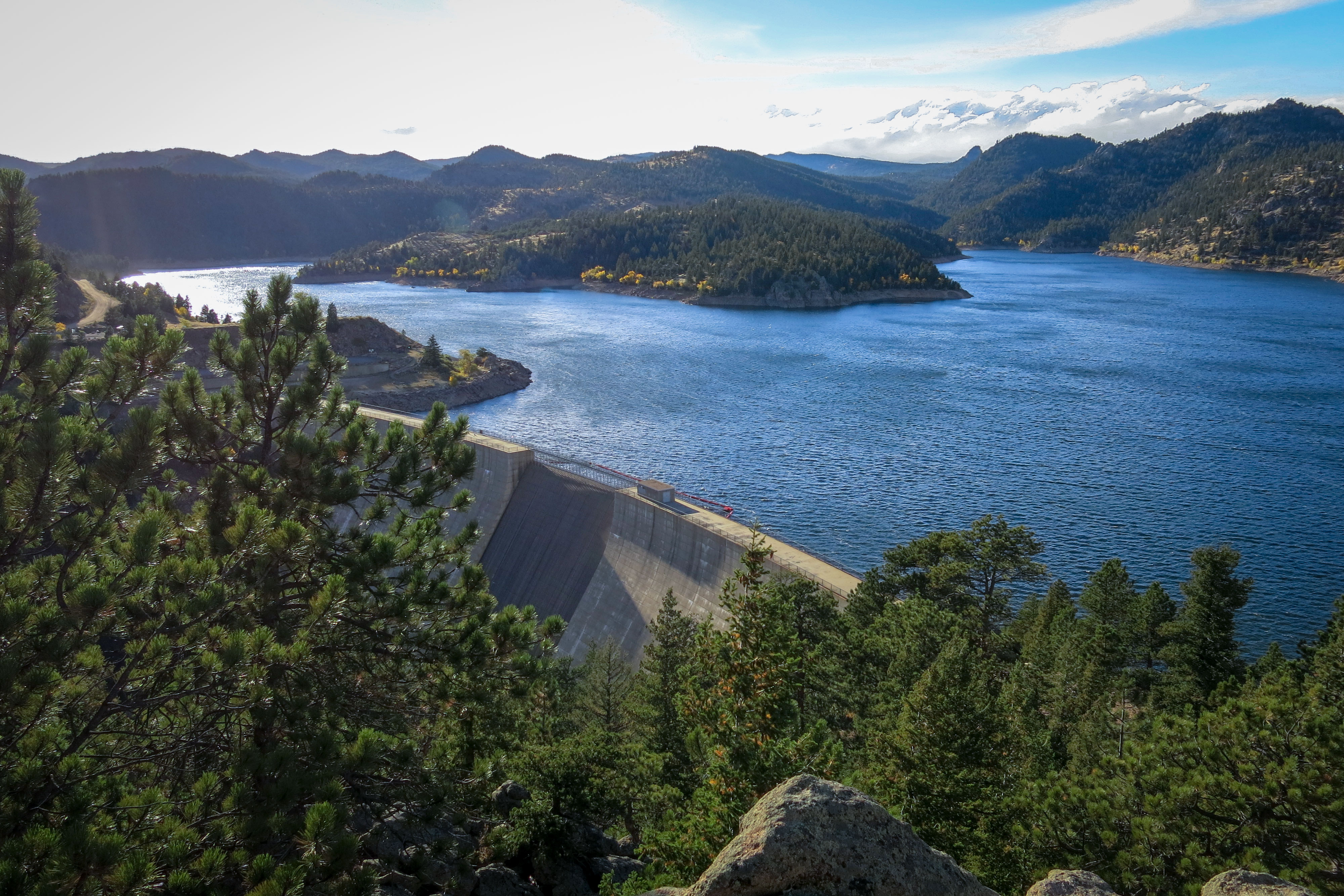 Denver Water wants to raise the dam at Gross Reservoir 131 feet to increase the storage capacity for more water in wet years.
