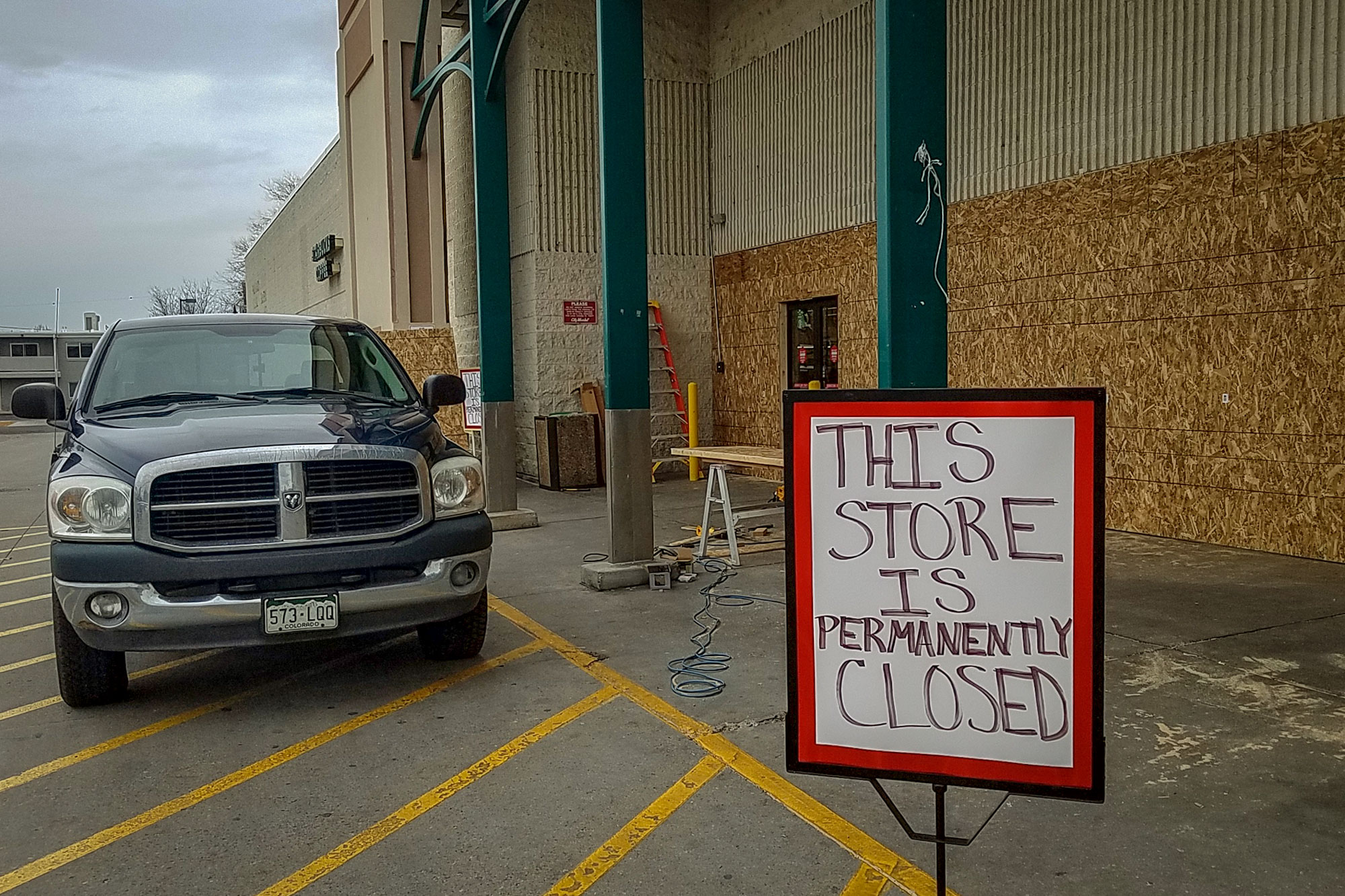<p>Grand Junction's downtown City Market had been in business since 1990. Company officials announced its closure in December, just about a month before the doors shut for good.</p>