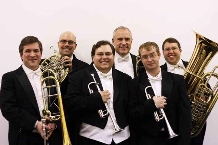 <p>Brass players from the Colorado Symphony</p>