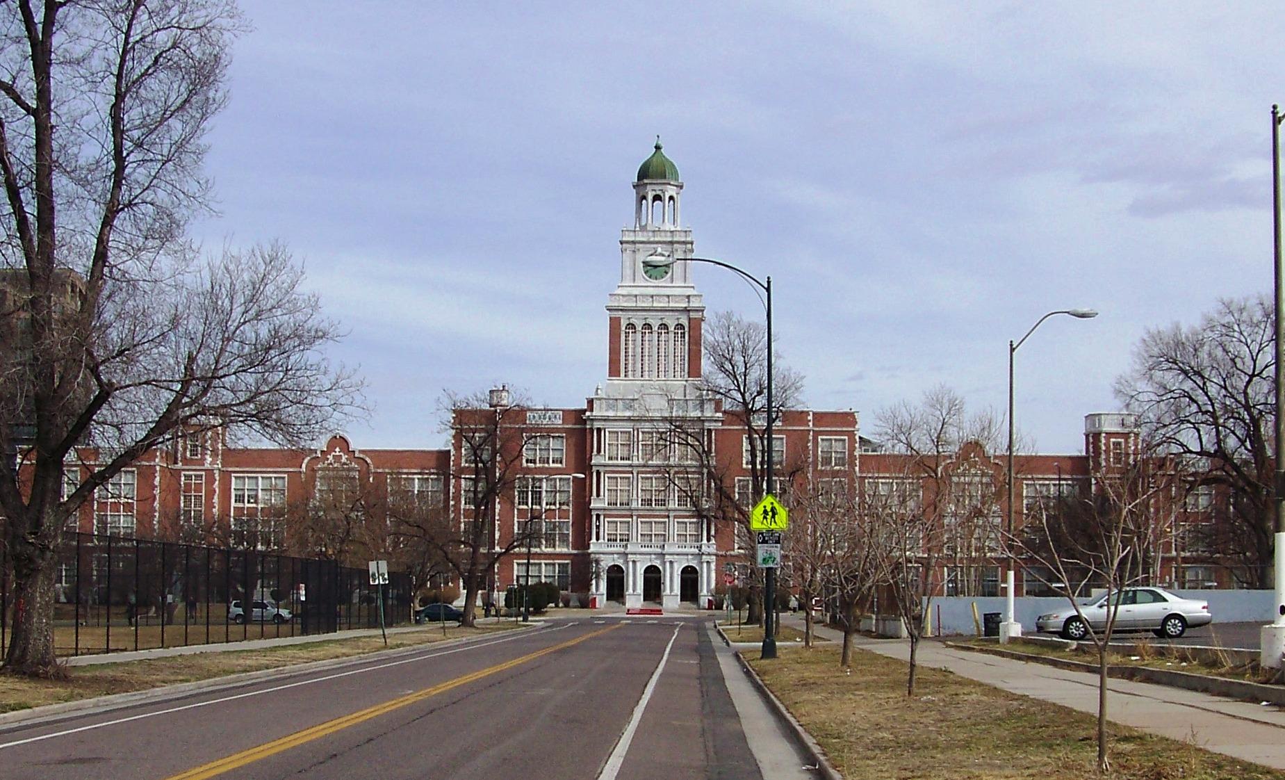 <p>East High School in Denver</p>