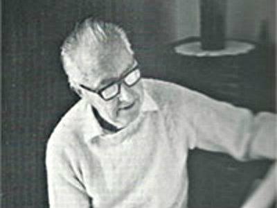 <p>Colorado composer Cecil Effinger.</p>