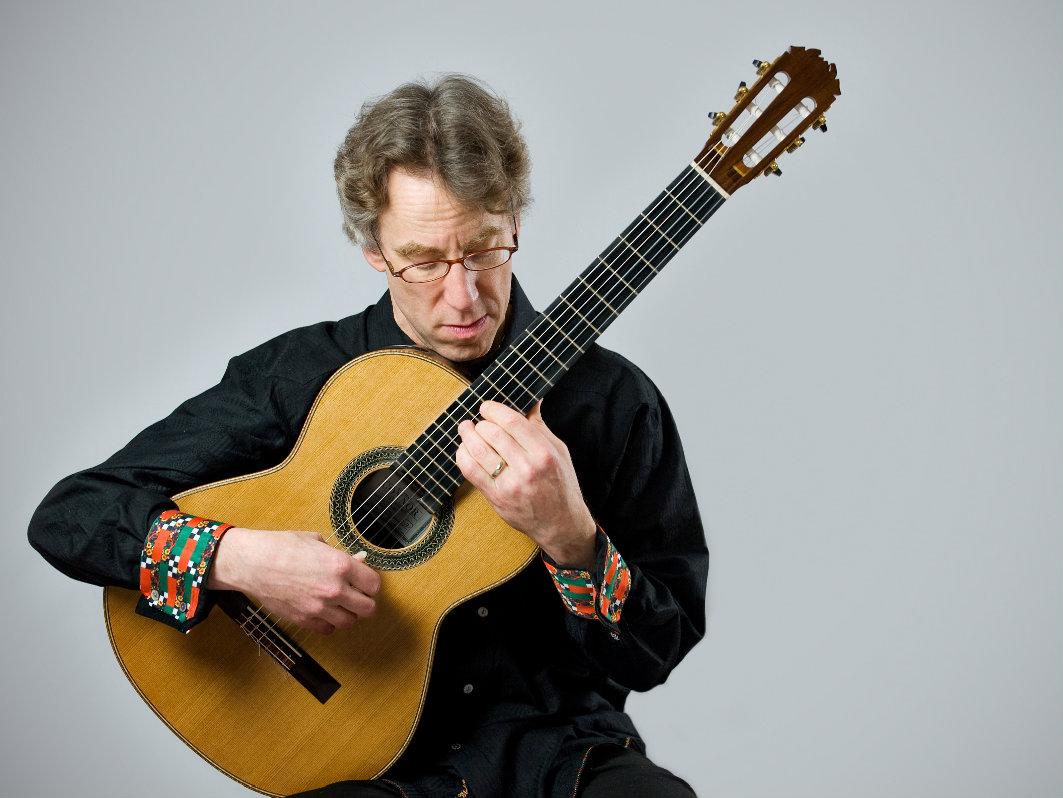 <p>Classical guitarist Eliot Fisk.</p>