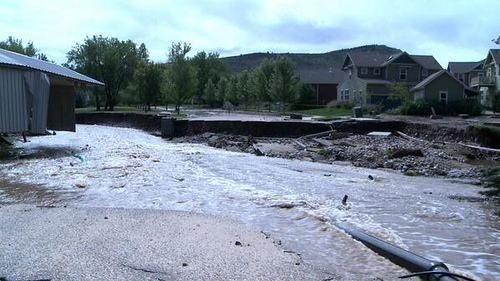 <p>Millions of dollars from a newly-announced federal grant will employ about 230 Coloradans to work on post-flood road repairs and other tasks.</p>