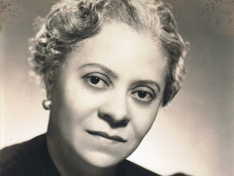 <p>Composer Florence Price</p>