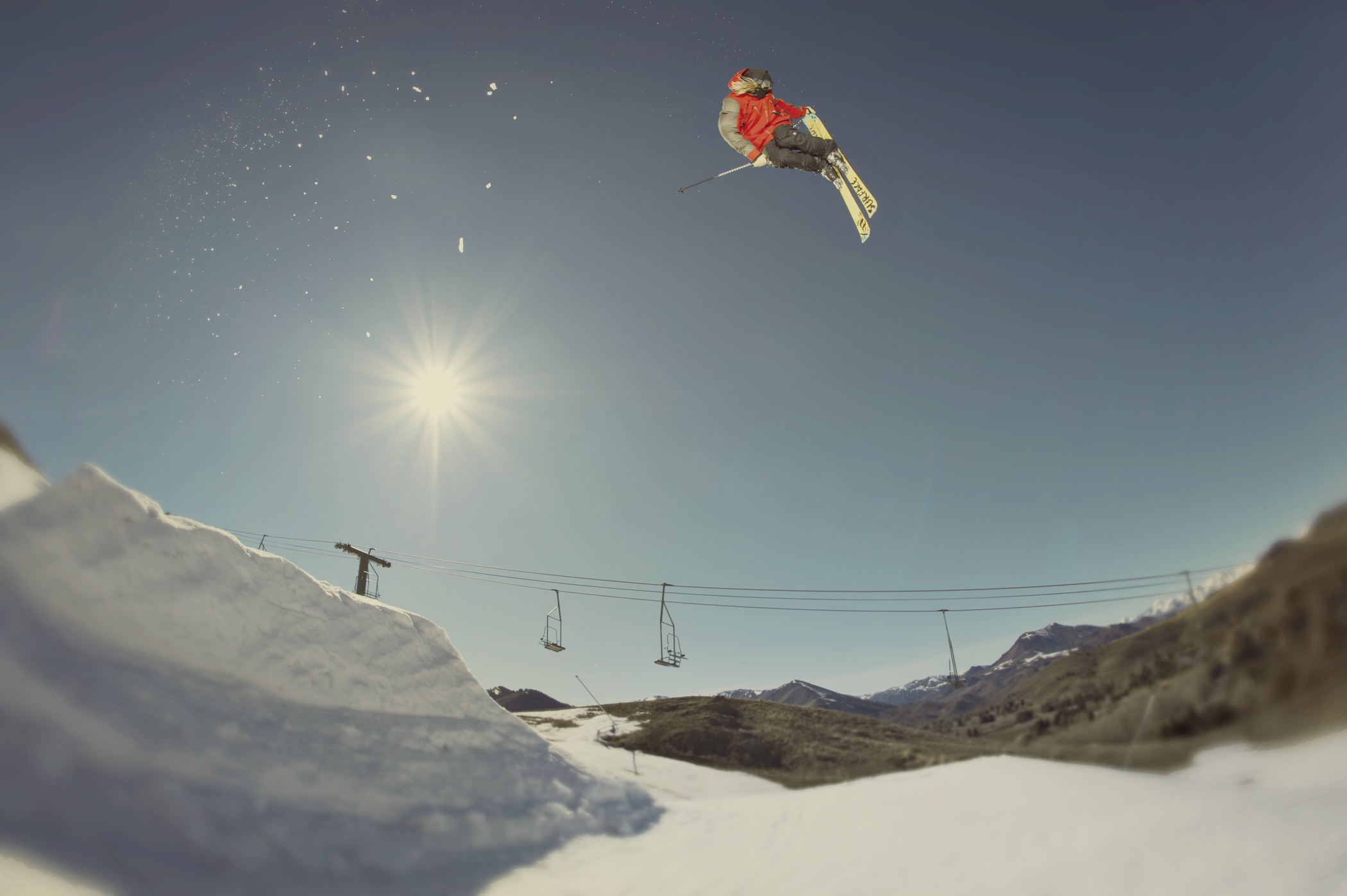 <p>A recent report shows that popularity in downhill skiing is declining, and a new sport called freeskiing is just taking off.</p>