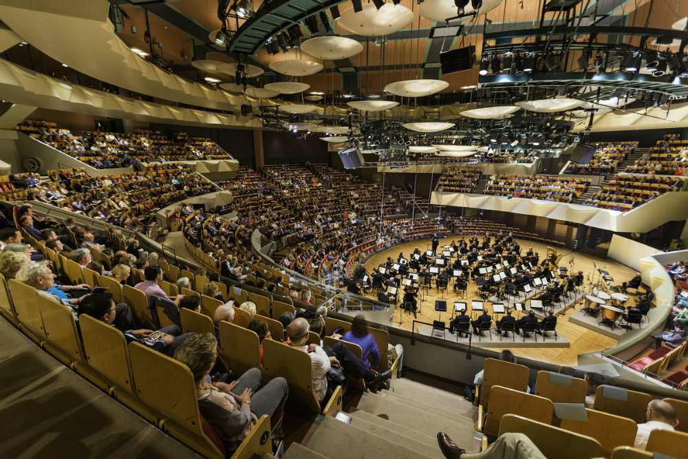 <p>The Colorado Symphony performs at Boettcher Concert Hall in Denver.</p>