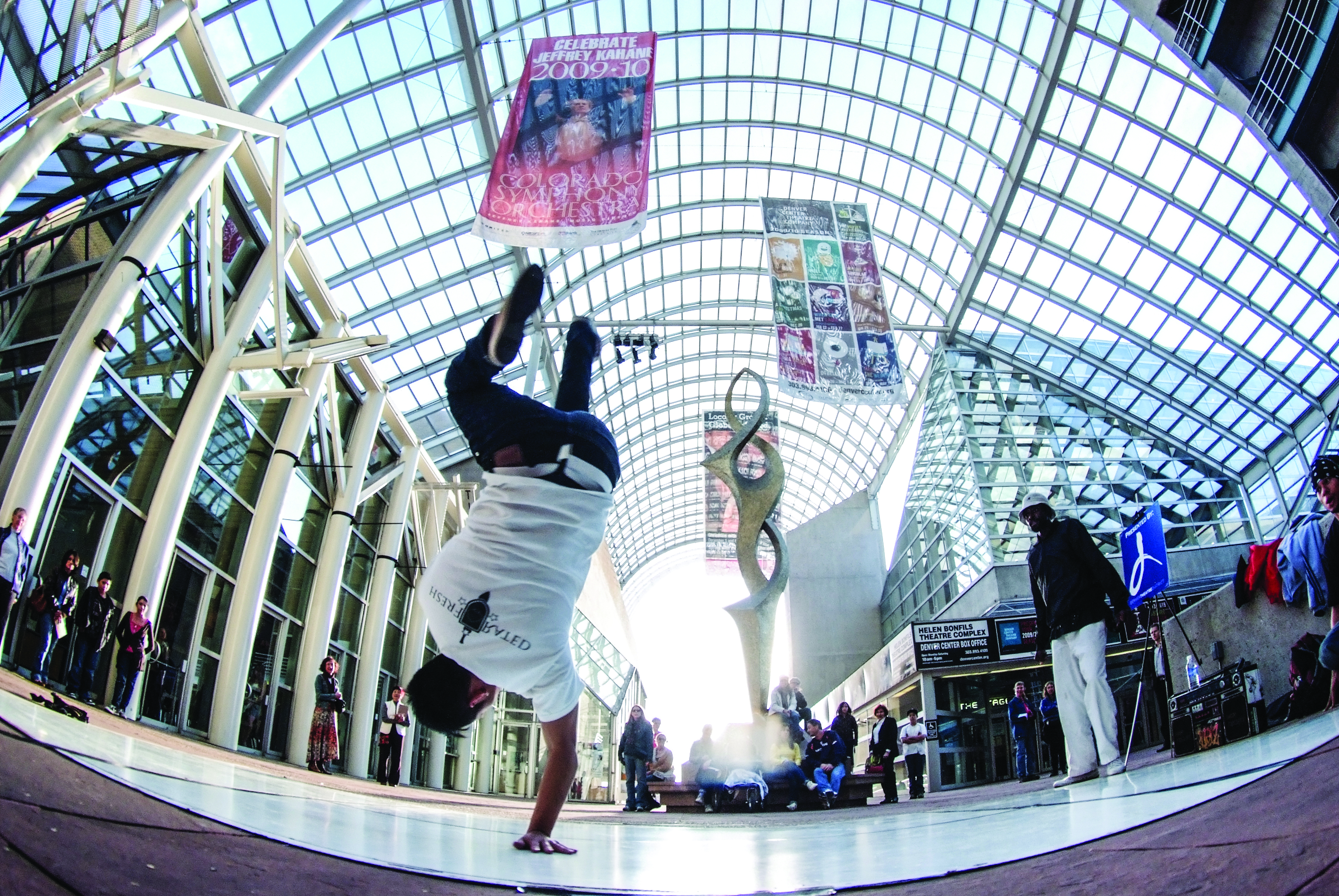 <p>Galleria Dancer at The Denver Center for the Performing Arts</p>