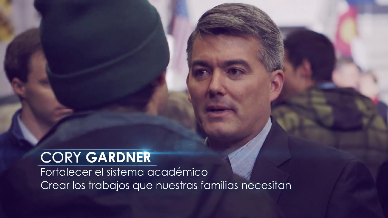 "<p>Republican Senate candidate Rep. Cory Gardner began running <a href=""http://www.youtube.com/watch?v=Yb9xNCgfQzg"" target=""_top"" rel=""noopener noreferrer"">Spanish-language ads</a> last week. </p>"