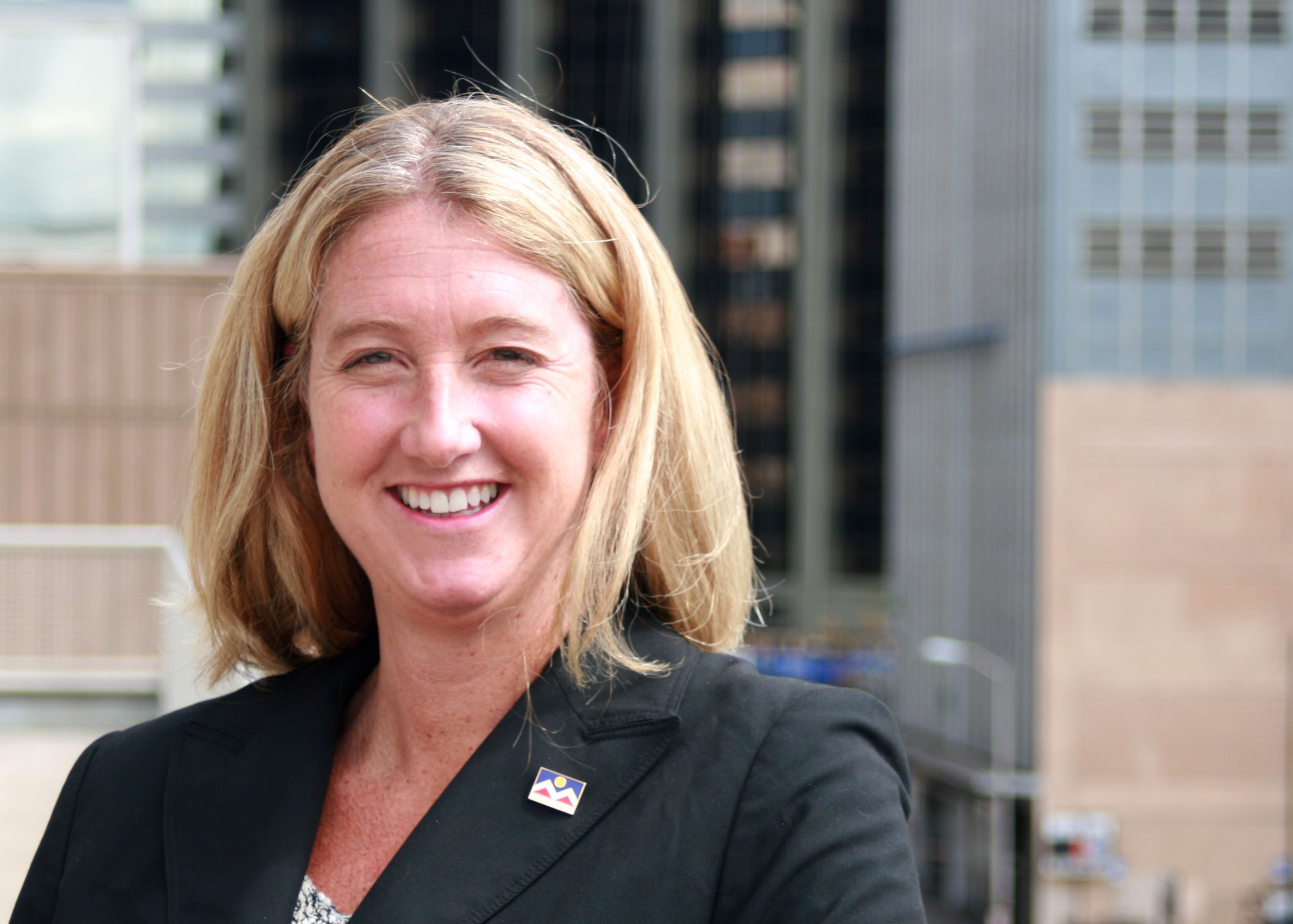 <p>Cary Kennedy, a Democrat, announced her run for governor of Colorado on Monday.</p>
