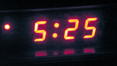 <p>Insomniacs are very familiar with the early-morning clock. Scientists are looking closely into a drug-free insomnia therapy as a possible cure for depression.</p>
