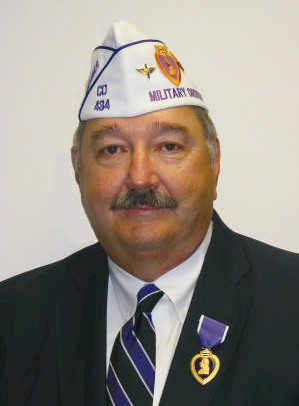 <p>Jeff Roy, first vice president of the Military Order of the Purple Heart's service foundation.</p>