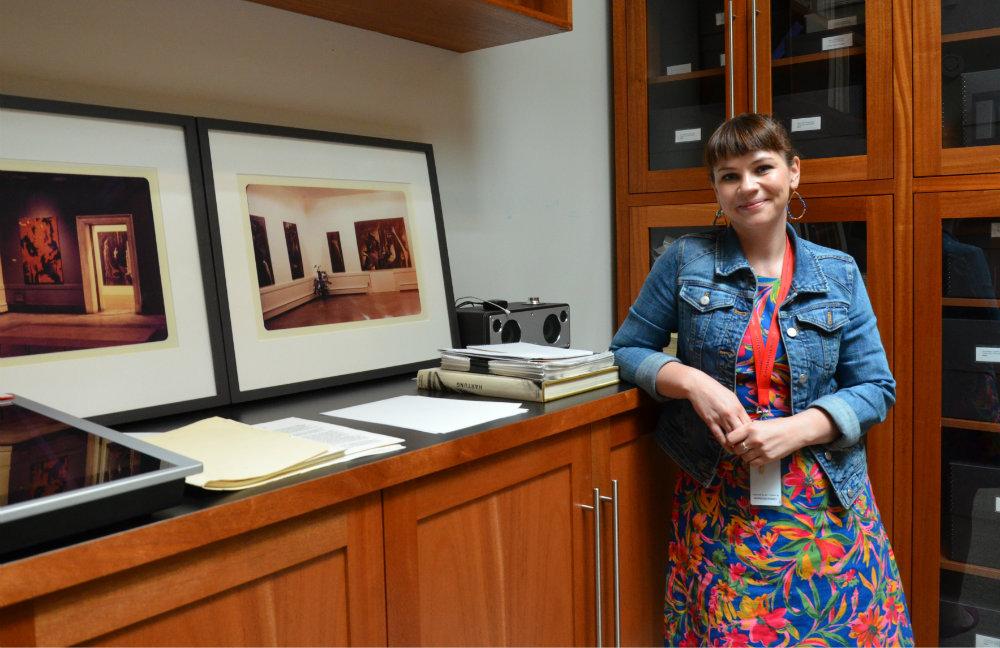 <p>Jessie de la Cruz is an art archivist for the Clyfford Still Museum in Denver.</p>