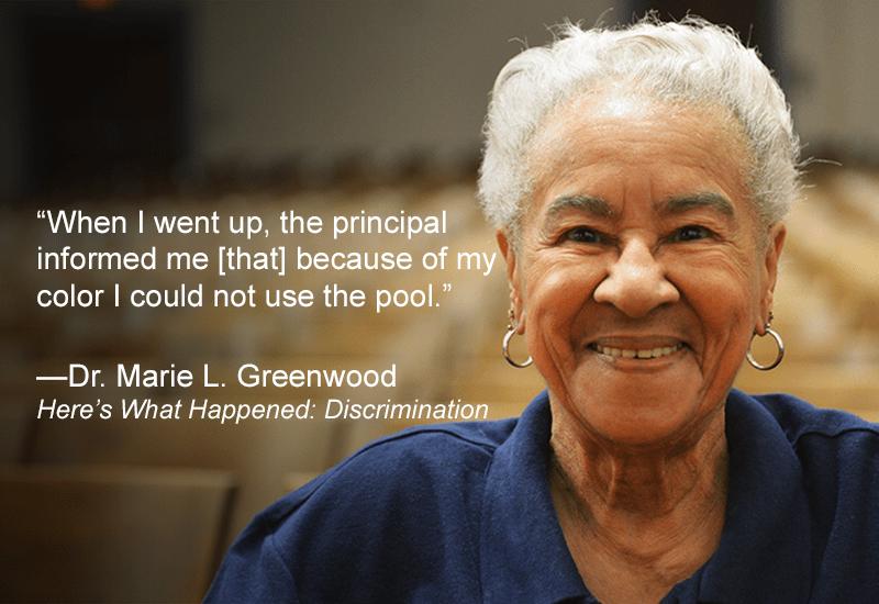 <p>Dr. Marie L. Greenwood.</p>