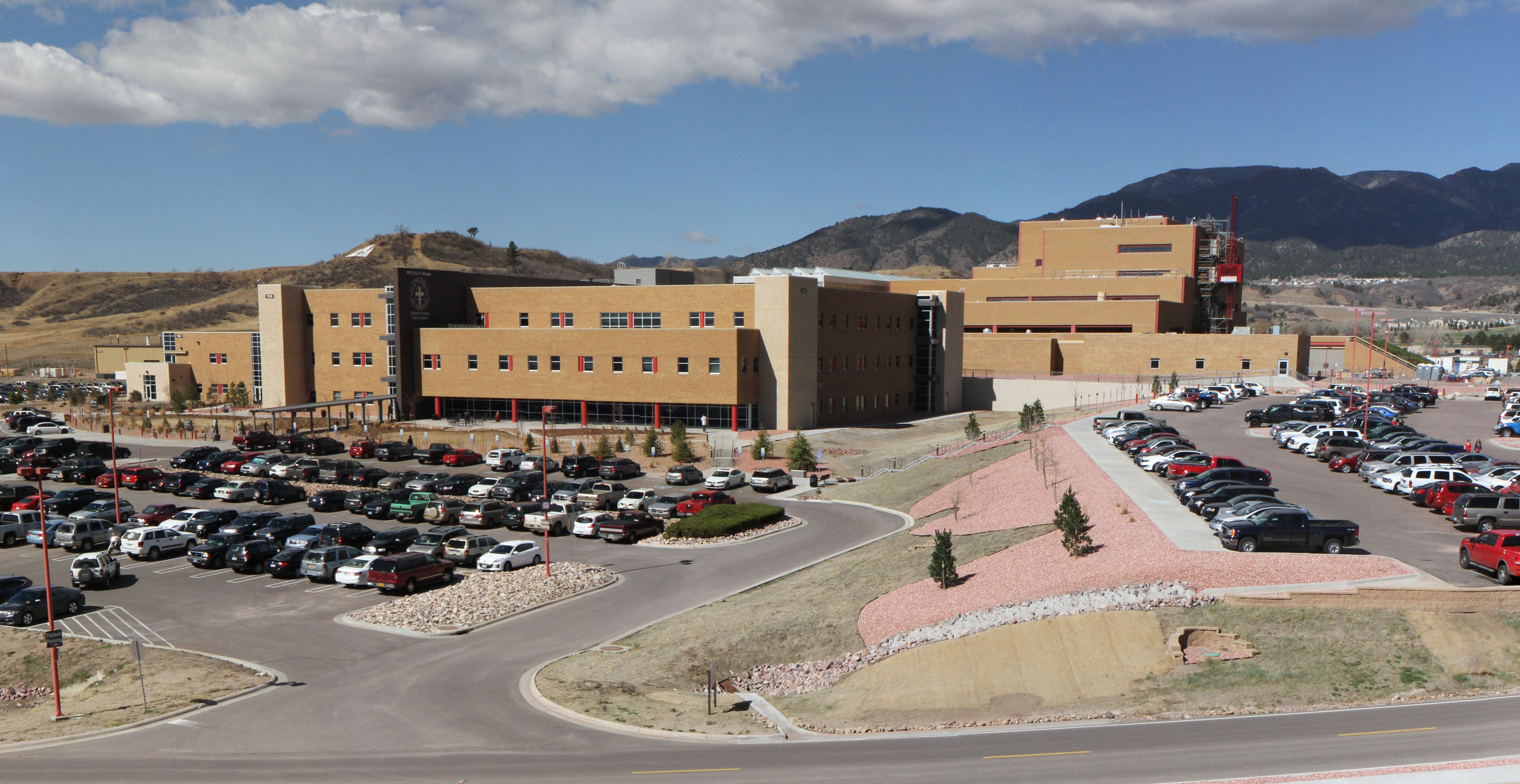 <p>The Evans Army Community Hospital in Fort Carson, Colo.</p>
