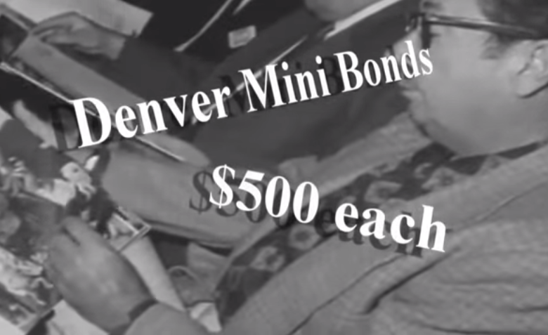 <p>The city of Denver sold $500 mini-bonds to fund road construction around the city.</p>