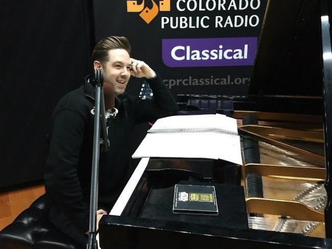 "<p>Brett Mitchell talks John Williams' music for""Star Wars"" in the CPR Performance Studio.</p>"