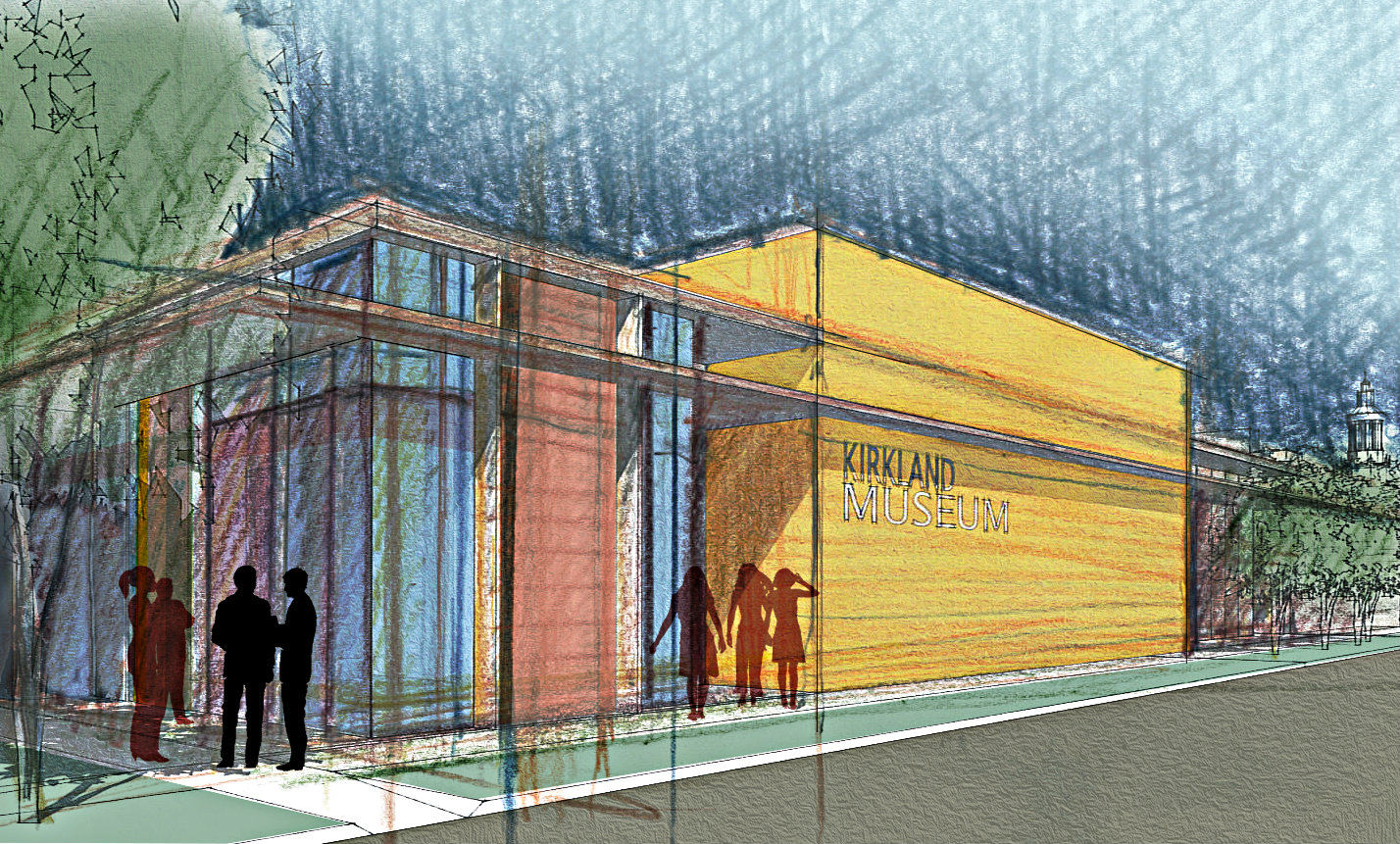 <p>Conceptual design for the new Kirkland Museum of Art and Design facilities, created by Seattle-based Olson Kundig Architects.</p>
