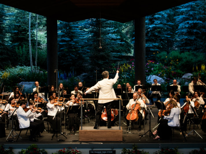 <p>The New York Philharmonic performs at Bravo! Vail, one of many festivals featured this summer as part of CPR Classical's SummerFest broadcasts. </p>