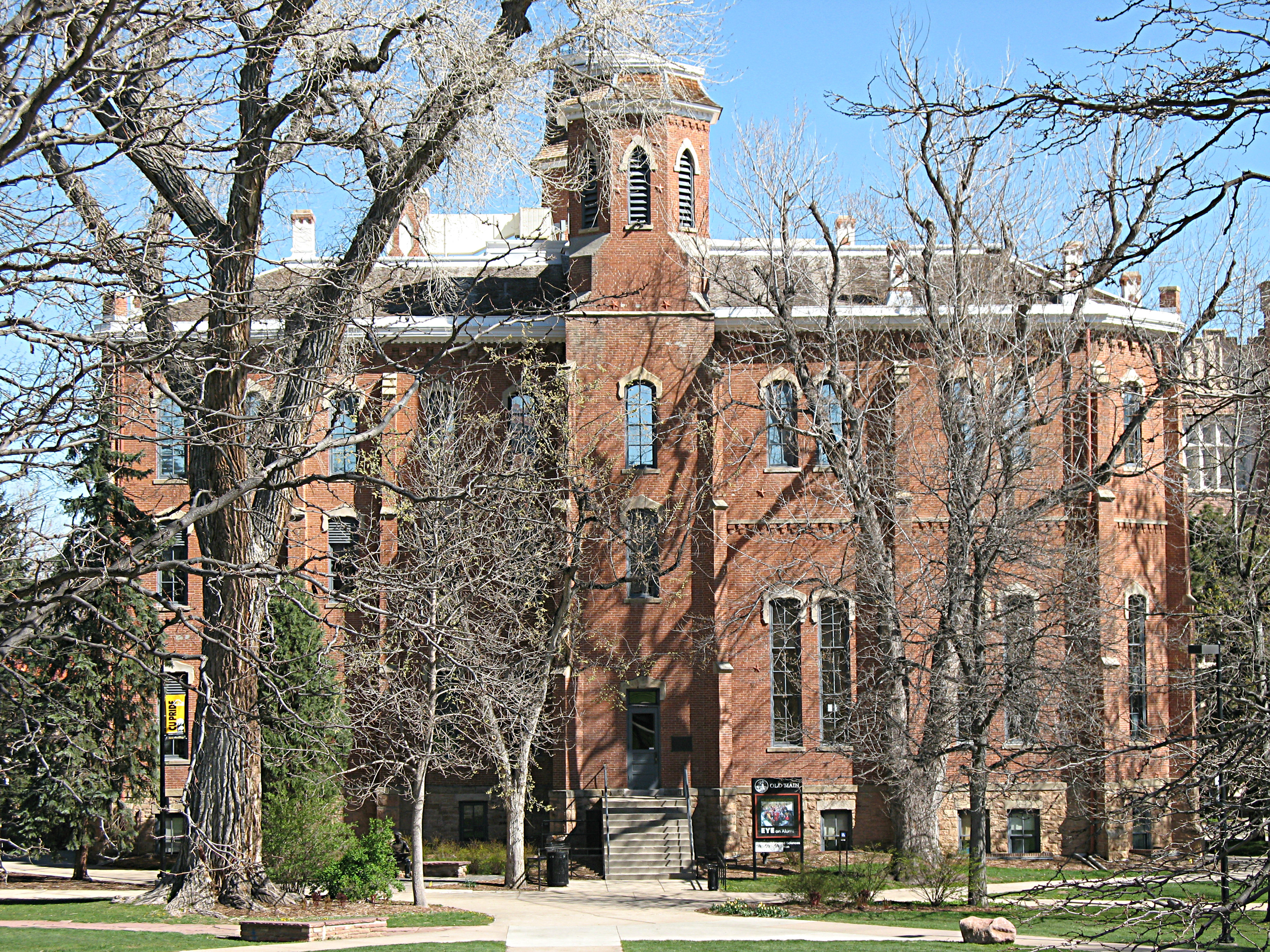 <p>Old Main on the University of Colorado at Boulder campus</p>