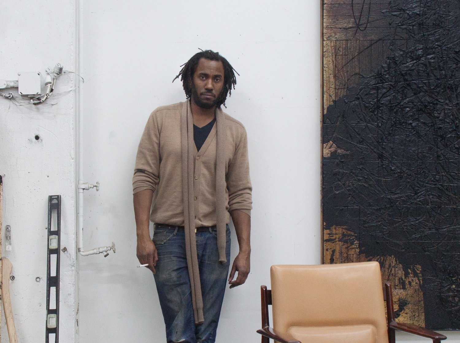 <p>Brooklyn-based artist Rashid Johnson</p>