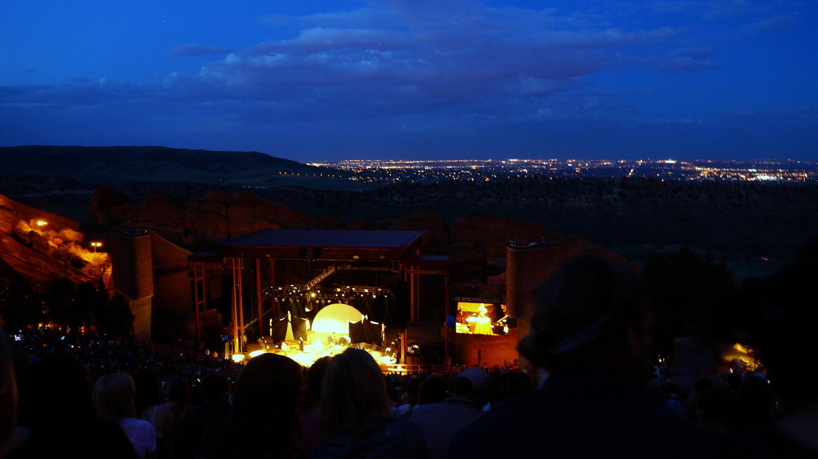 <p>Music at Red Rocks.</p>