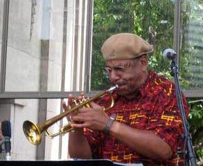 <p>Rob Buckner of Buckner Funken Jazz</p>