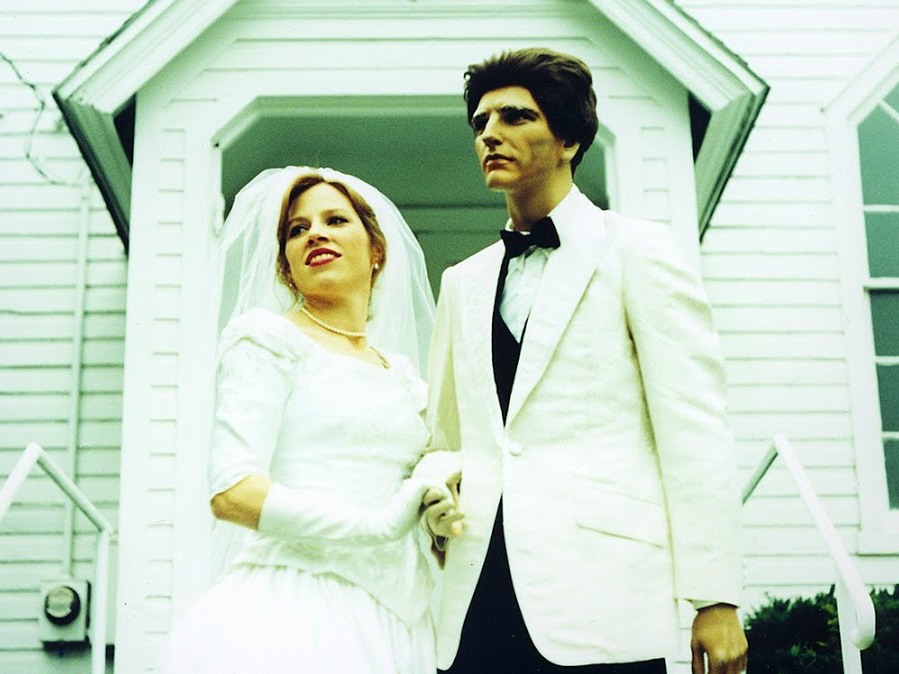 """<div>""""The Happiest Day."""" Heintz and """"Chauncey"""" just after taking their vows.</div> <div></div>"""