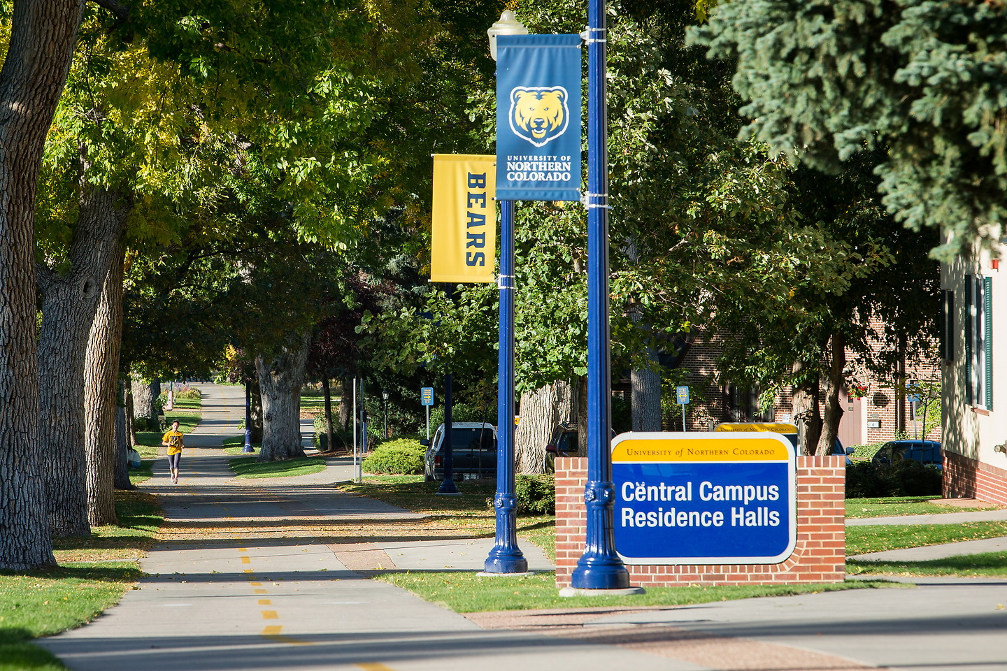 <p>The University of Northern Colorado campus in Greeley, Colo.</p>