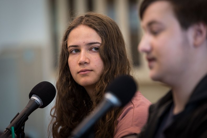 Photo: STEM Shooting Student Panel Colorado Matters 3 HV