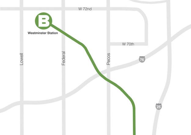 B-Line Map