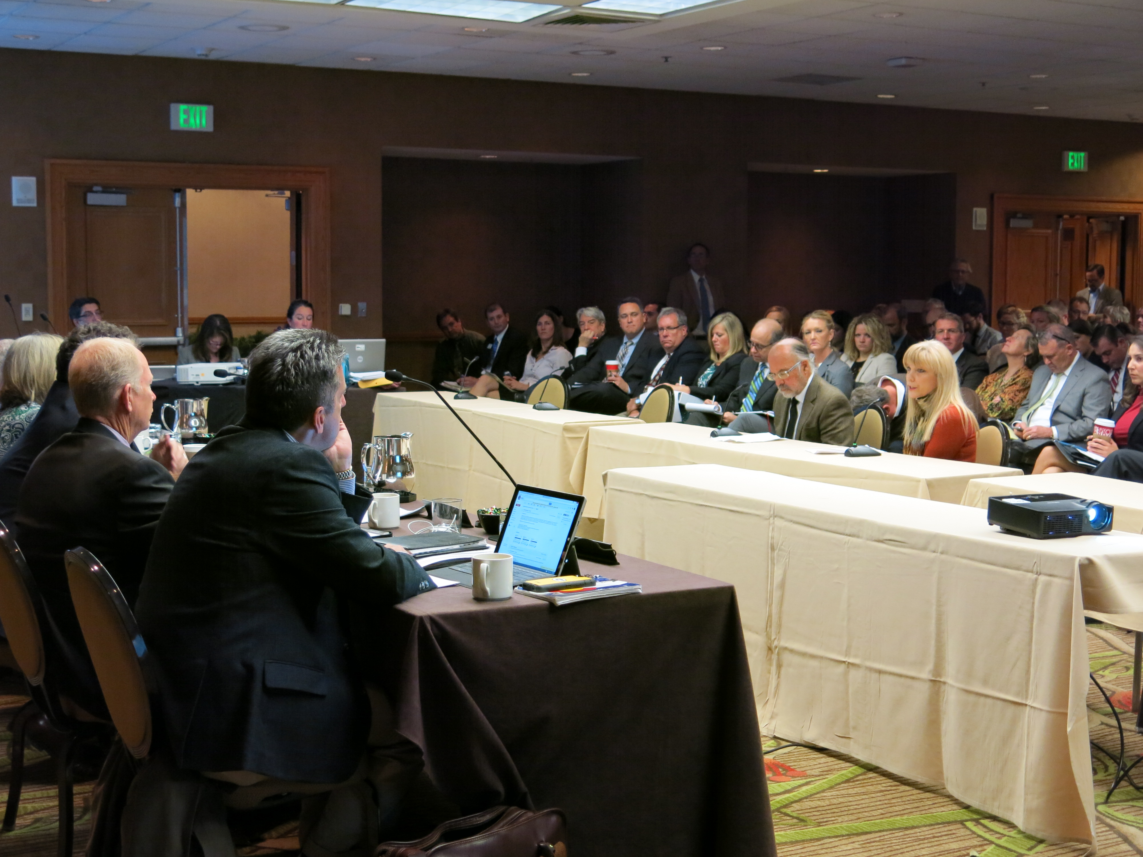<p>Aoil and gas task force public hearing was held in Denver on Monday, Nov. 16, 2015.</p>