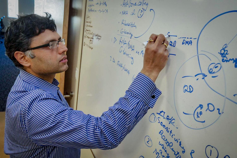 <p>Assistant University of Colorado Professor Prashant Nagpal.</p>