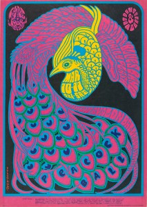 "Avalon Ballroom, Quicksilver et al, Victor Moscoso, 1967, lithograph, 20x14.2"""