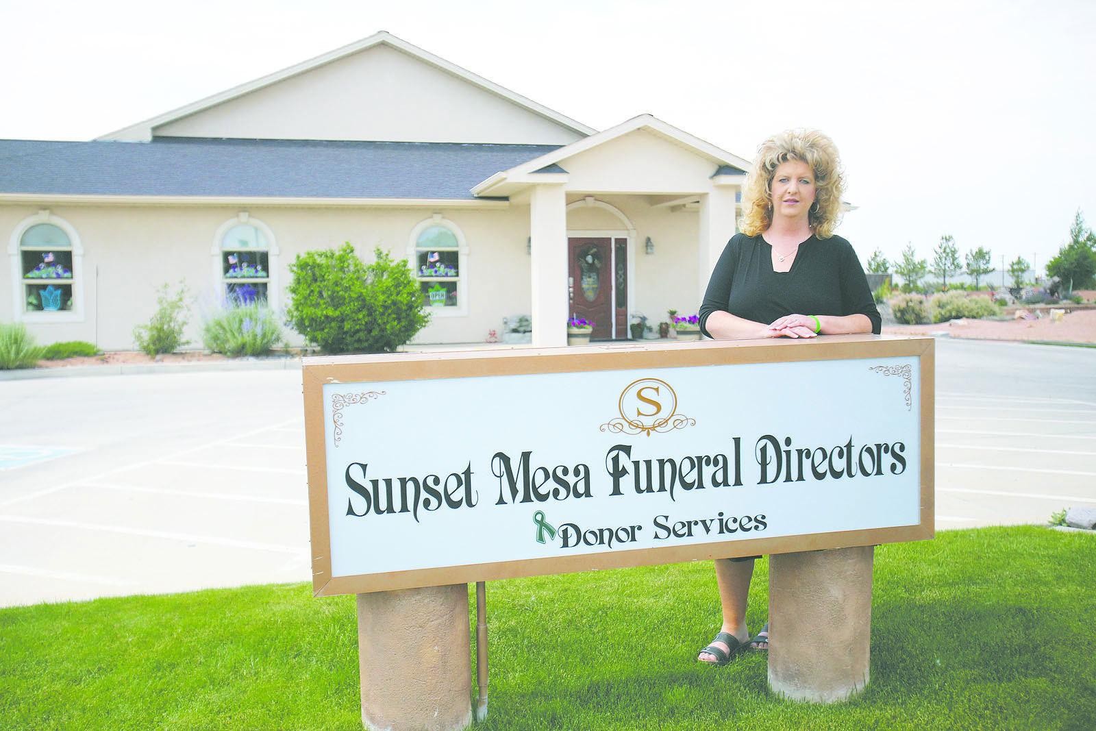 Megan Hess ran a body brokering business under the same roof as Sunset Mesa Funeral Directors. Though that wasn't illegal at the time, she's accused of not telling families she planned to harvest their loved one's bodies, sometimes selling parts all over the world.
