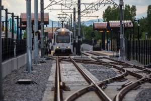 RTD Light Rail R Line Fitzsimons Aurora