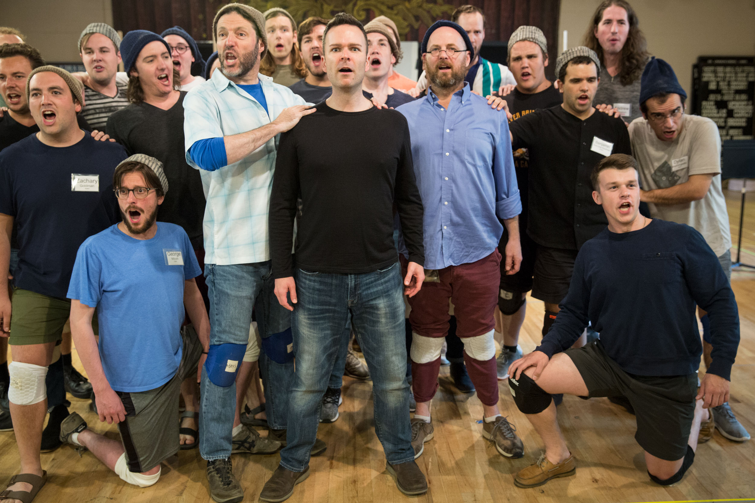 Central City Opera Rehearses Billy Budd