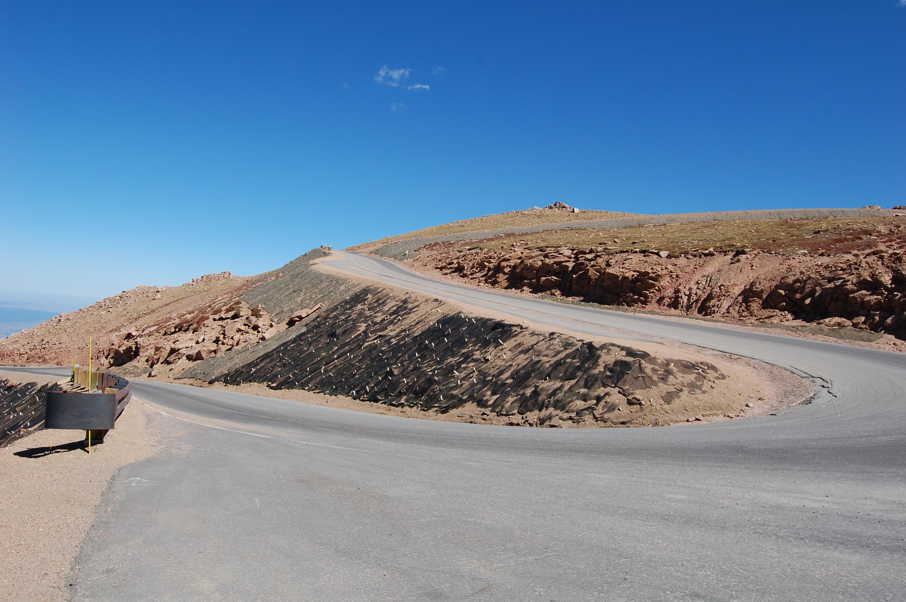Pikes Peak Highway S-Curve