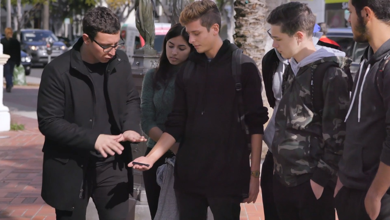 Magician Julius Dein is featured in a series of new videos from the federal government aimed at getting teens to stop vaping.