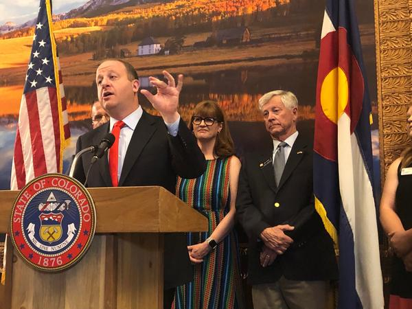 Gov. Polis announces that health insurance premiums on the state's insurance marketplace are expected to drop in 2020 thanks to a new reinsurance program.