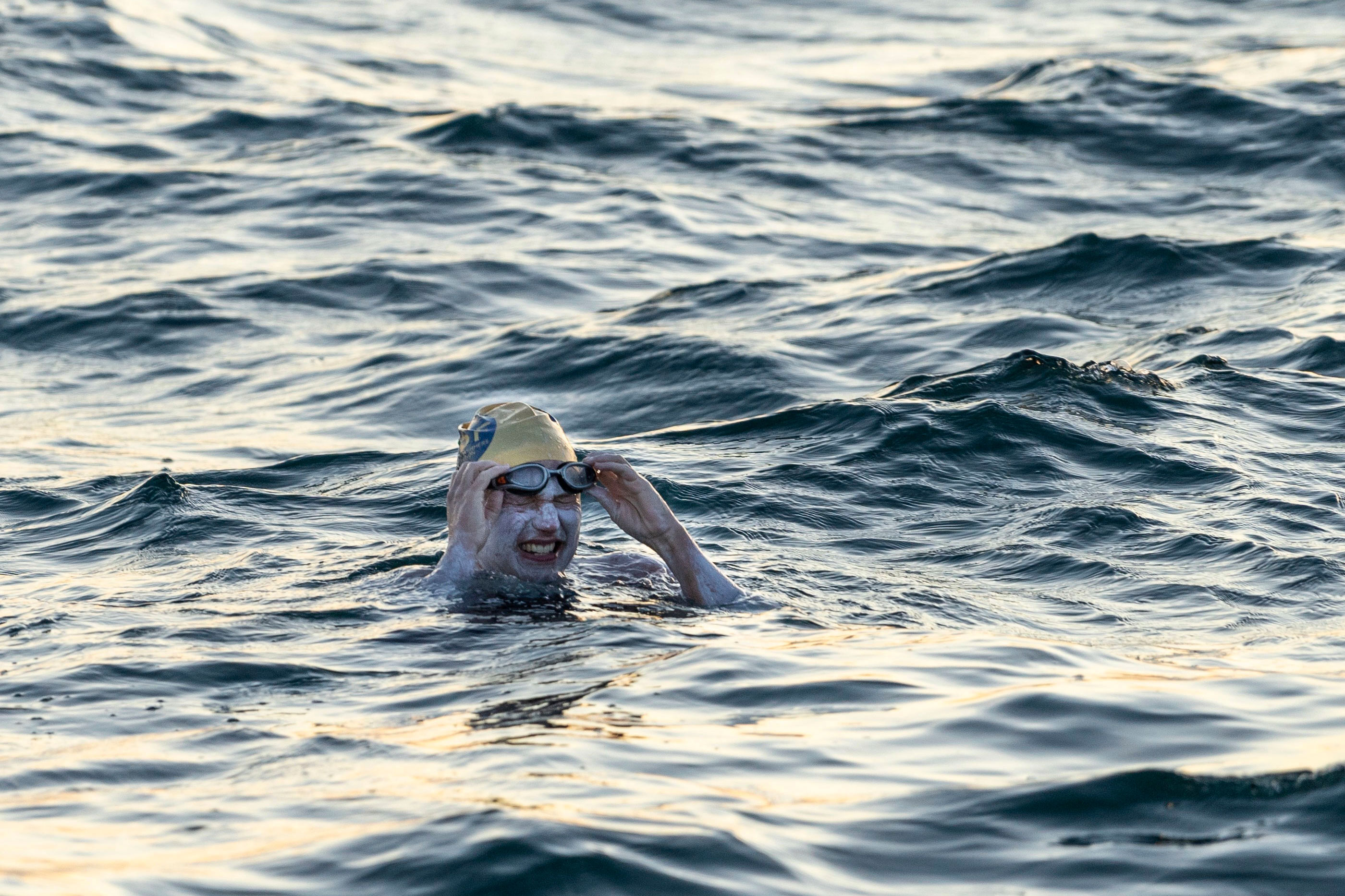 Britain Channel Swimmer
