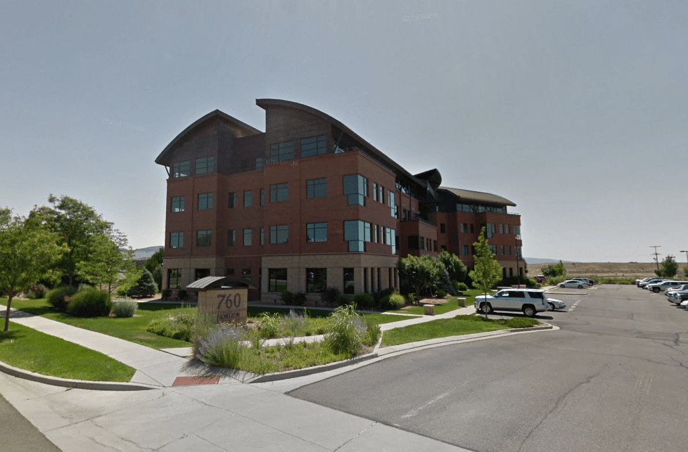 The building that will house the Grand Junction BLM headquarters, as seen through Google Maps.