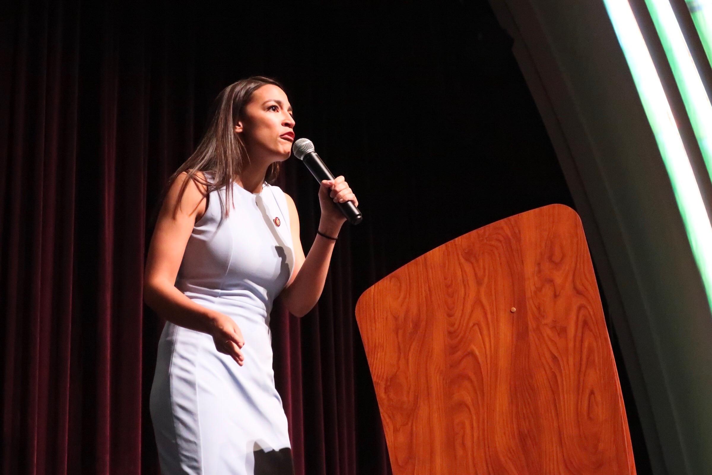 Alexandria Ocasio-Cortez In Boulder