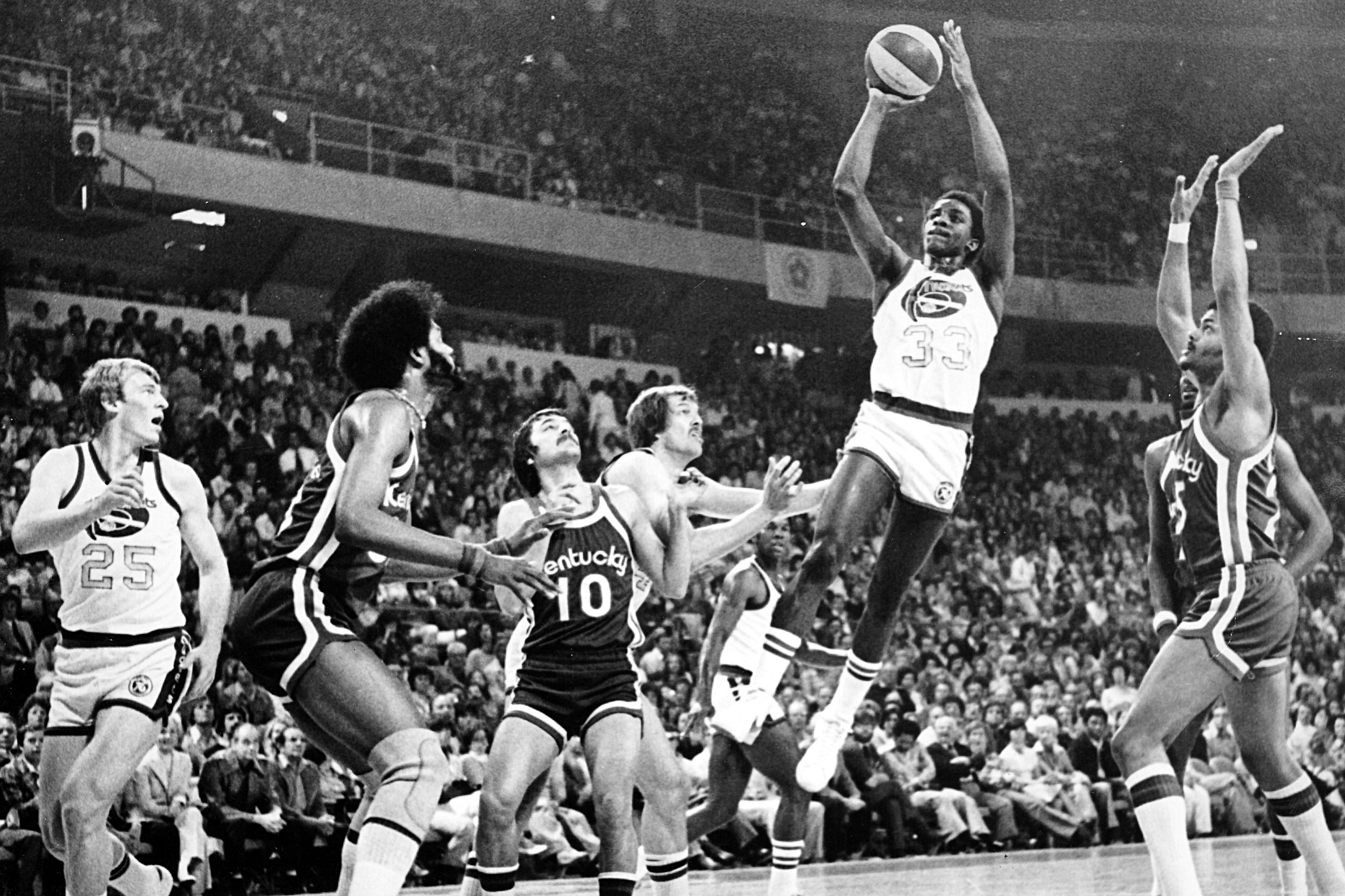 David Thompson NBA Archive Photos