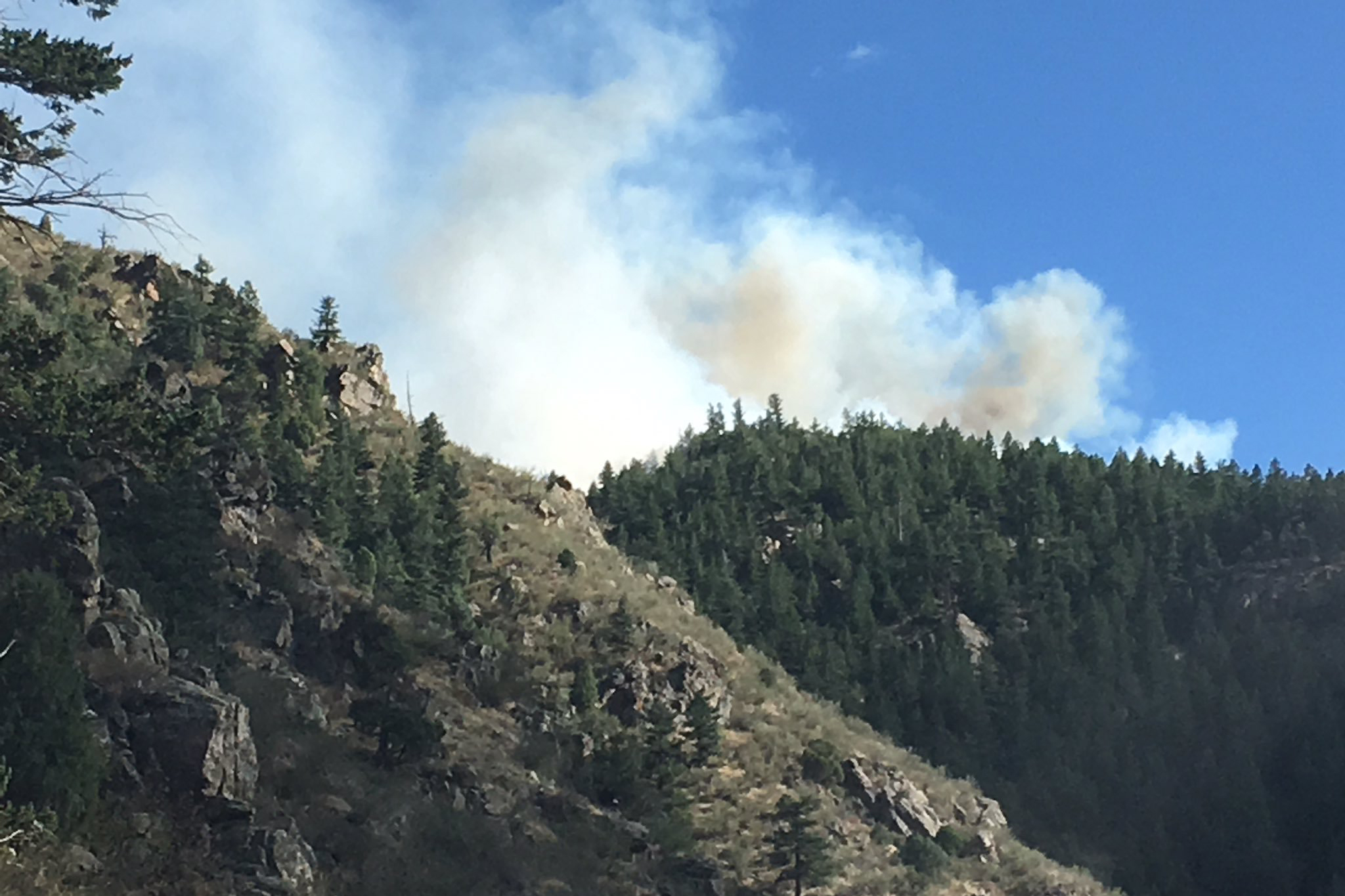 The Bald Mountain Fire on Friday, Sept. 20, 2019.