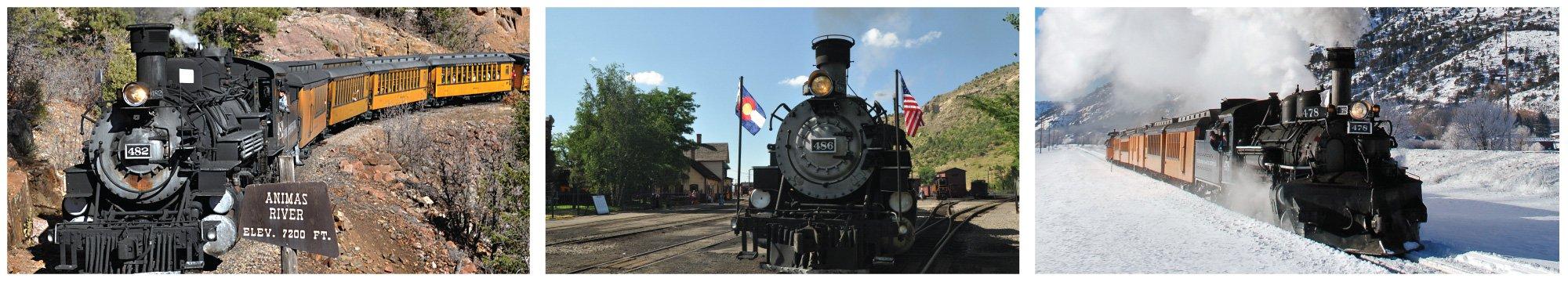 File Photo. The Durango & Silverton Narrow Gauge Railroad.